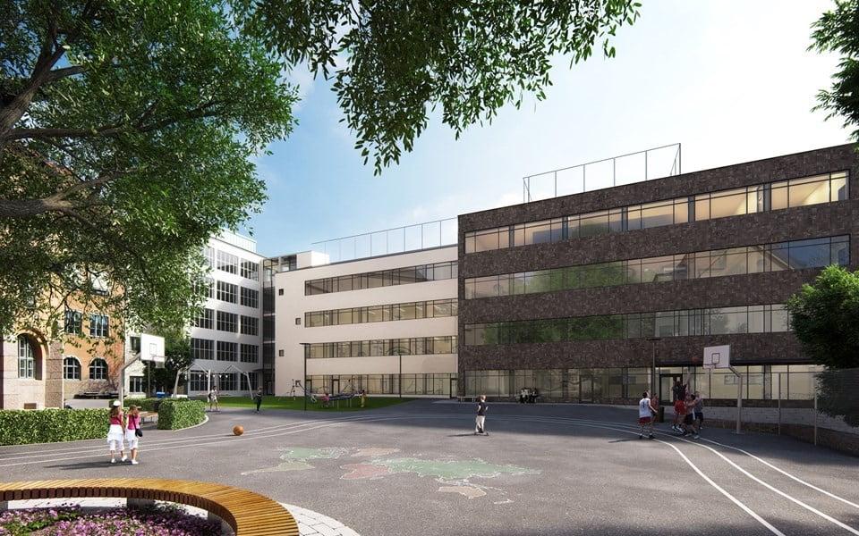 vasa-real-skolgard-ny skolbyggnadsdel